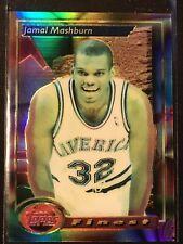1993-94 Topps Finest Refractor Jamal Mashburn Rc  #22
