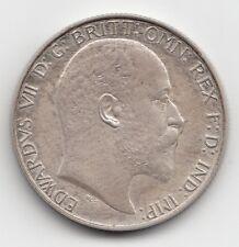 Very Rare Edward VII 1902 Matt Proof Silver Florin Two Shillings 2/-