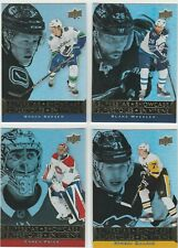 2018-19 Upper Deck Tim Hortons Superstar Showcase 4 Card Lot w/ Price Boeser