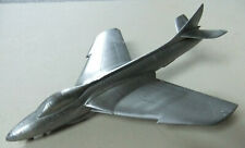RARE, VINTAGE LARGE SCALE HAND MADE DIECAST MODEL FIGHTER AIRCRAFT - HUNTER F6