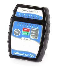 Quick LAN Ethernet Network Testing RJ-45 RJ45 UTP STP Cable Cabling Tester Tool