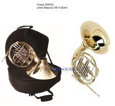 COMET Corno francese Sib 4 cilindri laccato campana smontabile French Horn + BAG