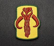 Premium Embroidered Mythosaur Morale Patch Boba Fett Mandalorian Star Wars Jango