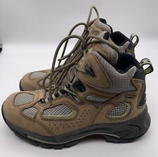 Vasque Goretex Hiking Boots Womens 7465 Size 8.5 Brown Leather Lace Up