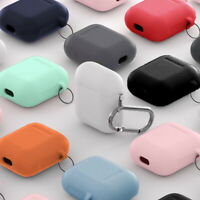 For Apple AirPods Pro 1 2 Case Protector Silicone Cover Earphone Charger Cases