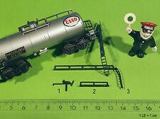 TT-Modell 1:120 Tankwagen-Set Reling (Ersatz ROKAL 100% exakt REPRO-Teil)