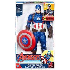 Hasbro Capitan America 30 cm elettronico Avengers Frasi ed effetti sonori Marvel