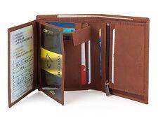 Hommes Portefeuille Cuir Pochette Porte-carte Cartes de crédit Sac Porte-monnaie