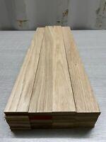 Oak TImber - Natural Wood- Offcuts - Hardwood 20 Pieces 48mm X 12mm X 500mm long