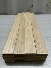 Oak TImber - Natural Wood- Offcuts - Hardwood 20 Pieces 48mm X 12mm X 500mm long