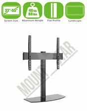 "Replacement TV Table Top Stand Pedestal Base Fits 26-55"" LCD LED Plasma Screens"