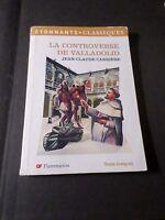 Libro de Bolsillo J C Charrière Controversia Valladolid, Flammarion Clásicos