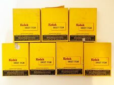 Kodak Super Panchro Press Film Sheets Expired 175 In 7 Boxes