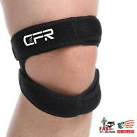 Dual Patella Knee Strap Band Support Stabilizer Tendon Brace Joint Pain Sports