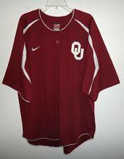 Euc Worn Twice Mens Xl Nike Oklahoma Sooners Baseball Jersey Ou Sewn Logos