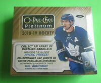 2018-19 O-Pee-Chee OPC Platinum Hockey Base/Rookies Singles (Pick Your Cards)