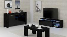 Black Living Room Modern Sideboards