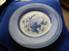 Earthenware Blue Staffordshire Pottery Dinner Plates