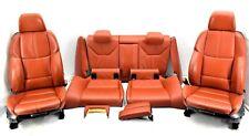 🌟 BMW M3 E92 Novillo Fox Red Leather Complete Interior Seats Memory Adaptive