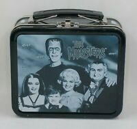 Vintage 1999 The Munsters Mini Metal Tin Lunch Box Universal Studios 5.5 x 4.75