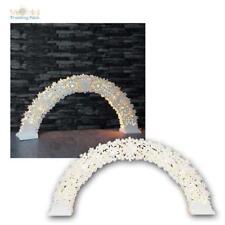chandelier pour fenêtre forme d'Arche Arc-Boutant Flocons de neige 11