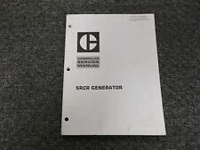 Cat Caterpillar CRCR Generator Shop Service Repair Manual