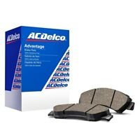 For Cadillac SRX 10-16 ACDelco Advantage Ceramic Front Disc Brake Pads