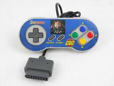 Official Super Nintendo SNES Controller Grey Gamepad Starwing Sticker