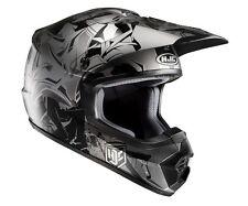 Casco Helm Casque Helmet HJC CS-MX II 2 GRAFFED ARGENTO S