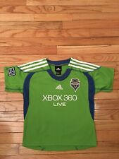 Seattle Sounders MLS Adidas Toddler Soccer Jersey Size 7