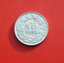 Schweiz-Suisse: 1/2 Franken 1952-B .835 Silber, KM# 23, Helvetia, F# 2191