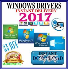 DELL Windows PC DRIVERS Recovery/Restore/Repair/Install XP/Vista/7/8/10