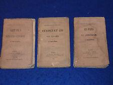 1861 histoire populaire des papes JANSÉNISME & SAINT PIE V chantrel INNOCENT III
