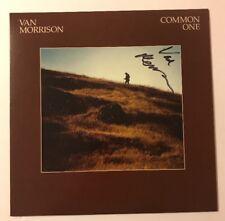 Van Morrison Signed Common One Vinyl LP JSA COA #Z04270 Autographed