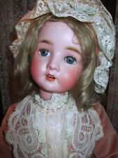 25' Lovely Antique S H Pb In Star 914 German Doll