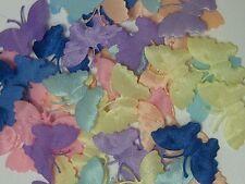 50 tissu satin assortis! motifs papillon décoration carte 4 broderie mariage