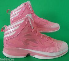 SPECIAL ED~Adidas CRAZY FAST CANCER AWARE Basketball quick 8 Shoe adizero~Men 12