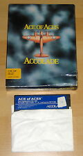 Ace of Aces - U.S. Gold 1986 - RARE C64 Disk Game BIG BOX Commodore 64