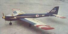 Bauplan & Anleitung für RC-1 Kunstflugmodell Blue-Angel 60 von Simprop / Kato