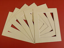 50 IVORY PICTURE MOUNTS 16 x 16'' FOR 12 x 12''