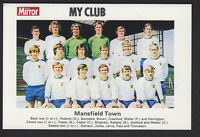 Daily Mirror - My Club Redemption Card 1971 - Mansfield