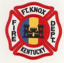 Kentucky Fort Knox Fire Department Patch