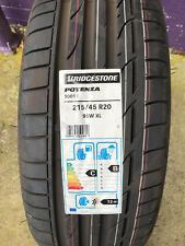 2 New 215 45 20 Bridgestone Potenza S001 Tires