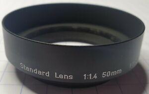 Vintage ASAHI PENTAX LENSHOOD Standard Lens 1:1.4 50mm 1:1.8-2 55mm 00