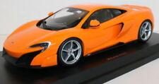 Voitures de courses miniatures orange pour McLaren 1:18