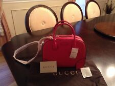 Gucci Bright Diamante-Leather Top-Handle Bag Pink