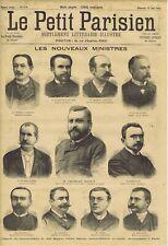 Le petit parisien illustré 279 10/06/1894 Ministère Charles Dupuy Corrida Turpin