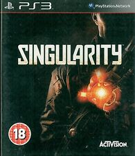 Singularity Sony Playstation 3  PS3 18+ DPS Shooter Game