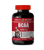 bodybuilding supplement - BCAA 3000mg 1 Bottle - muscle building vitamins