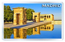 MADRID SPAIN DEBOD TEMPLE MOD3 FRIDGE MAGNET SOUVENIR IMAN NEVERA